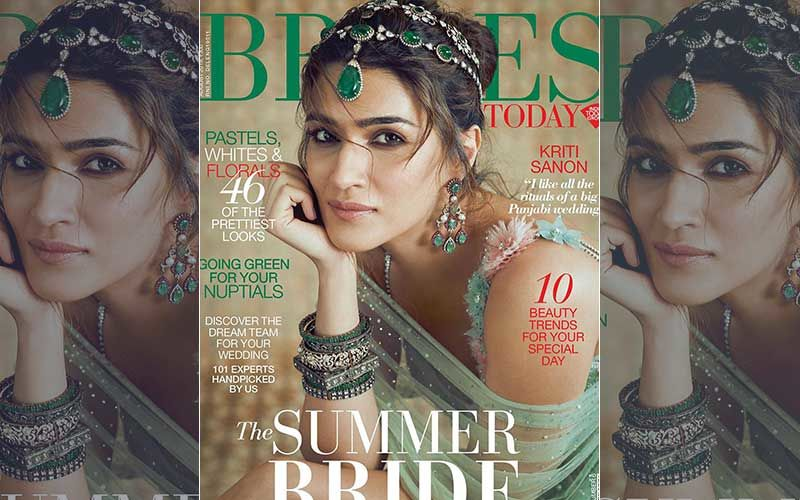 Kriti Sanon's Bridal Look Will Leave You Speechless, Lady Slays On The Cover Of A Magazine