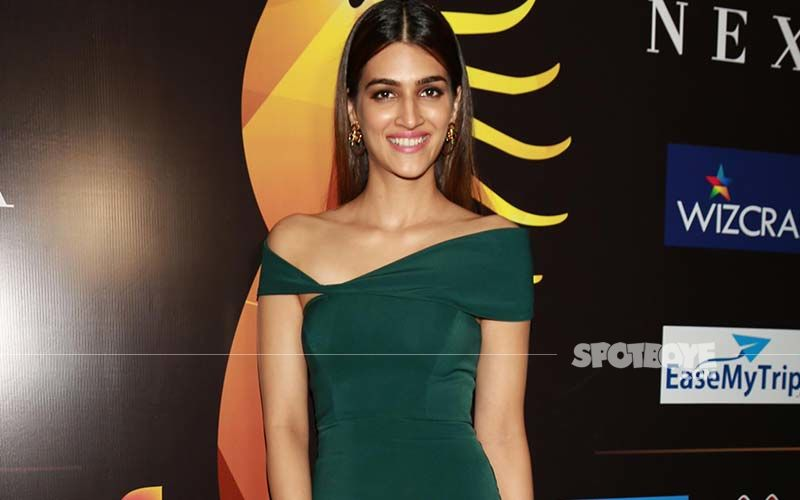 Kriti Sanon In This Bright And Gorgeous Lime Green Dress Shows You How To Do Neon Right