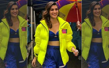 Kriti Sanon's Funky New Avatar Grabs Attention; Actress Looks Uber-Chic And Quirky In A Bright Neon Jacket-PICS
