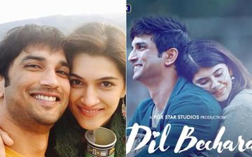 Dil Bechara Trailer: Rumoured Ex GF Kriti Sanon Shares A Heartbreaking Post, Says It'll Be Hard To Watch The Film Starring Sushant Singh Rajput