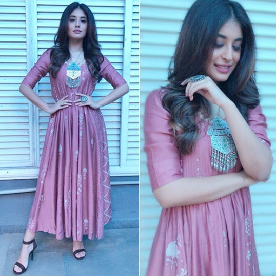 kritika kamra poses for a photo shoot
