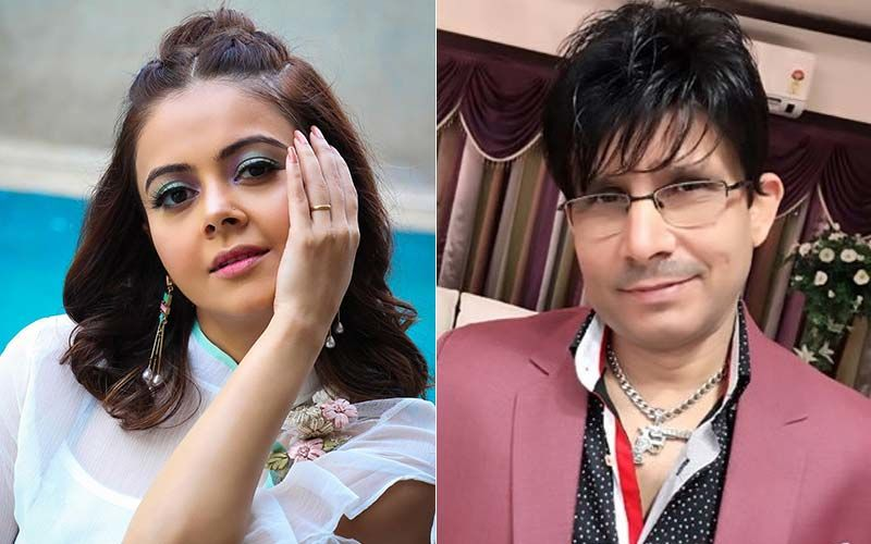 KRK Showers 'Babe' Devoleena Bhattacharjee With Hearts And Roses; SidNaaz Fans Root For #KamLeena