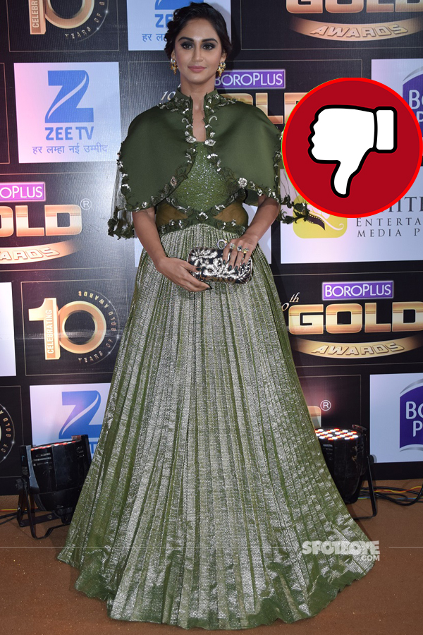 krystel dsouza at gold awards
