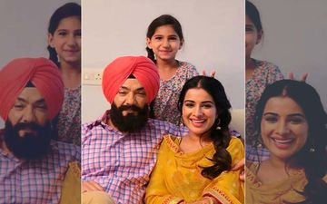 Kuljinder Singh Sidhu And Sara Gurpal's Picture From The Sets Of 'Gurmukh' Is Too Adorable