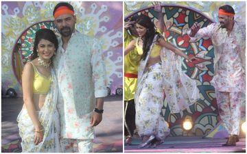 Kumkum Bhagya HOLI Special: Shabir Ahluwalia Aka Abhi And Sriti Jha Aka Pragya 'Go Pagal' Dancing For Rang Malang
