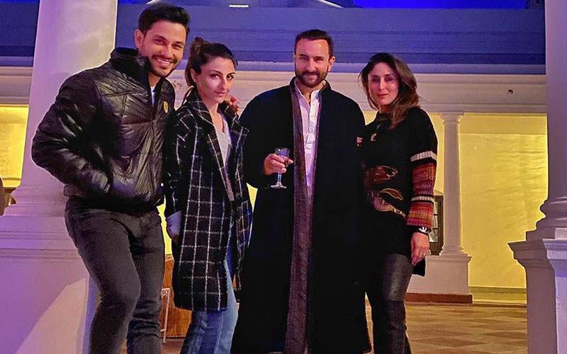 Kareena Kapoor Khan-Saif Ali Khan And Soha-Kunal Kemmu Ooze Royalty In Latest Pics From Pataudi Palace