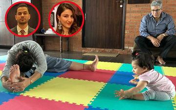 International Yoga Day 2019: दादी से योग आसन सीखती दिखी सोहा अली खान की बेटी इनाया, तस्वीर हुई वायरल