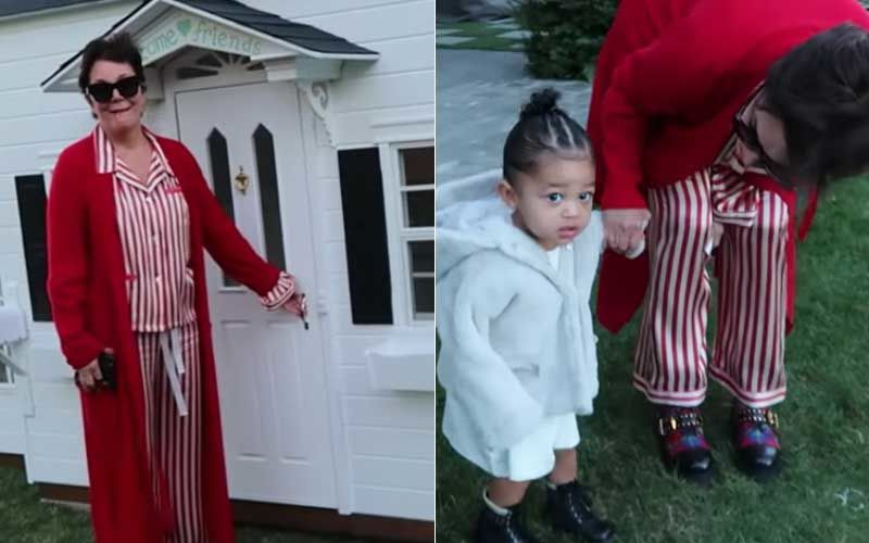 Ahead Of Christmas, Kris Jenner Gifts Kylie Jenner's Daughter Stormi A Playhouse