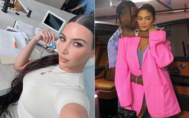 Kim Kardashian's Cryptic Response To Kylie Jenner - Travis Scott's Relationship Status Has Got Us Curious