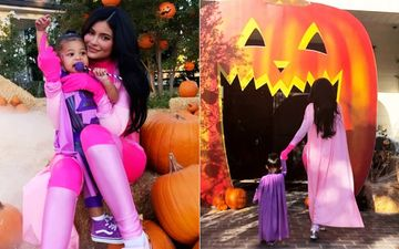 Kylie Jenner And Daughter Stormi's Halloween Party Is All About Coordinated Superwoman Costumes And Skeletons - INSIDE PICTURES