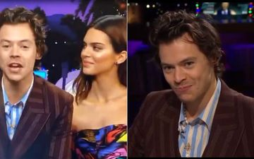 Harry Styles Eats Cod Sperm To Avoid Kendall Jenner's Personal Question On James Corden's Show