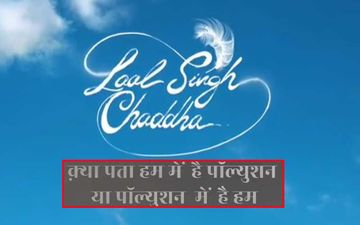 Laal Singh Chaddha: Netizens Come Up With A Quirky Teaser Over #DelhiAirPollution, Give A Creative Touch To The Film Logo