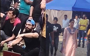 Aamir Khan-Kareena Kapoor Khan Starrer Laal Singh Chaddha On-Set Pictures LEAKED; Kareena Stuns In A Plain Jane Look