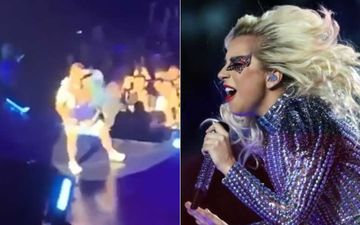 Lady Gaga Suffers A Nasty Fall As Her Fan Tried To Pick Her Up During A Concert In Las Vegas – WATCH VIDEO