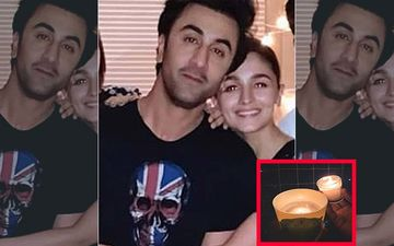 Alia Bhatt Posts A Pic With Two Candles And Two Hands For #9PM9Minutes Call; Fans Are Convinced It's Ranbir Kapoor's Hand