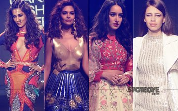 LAKME FASHION WEEK 2017, Day 3: Chitrangda Singh, Esha Gupta, Shraddha Kapoor, Kalki Koechlin Turn Showstoppers