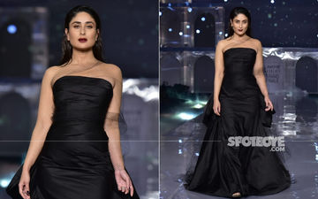 Lakme Fashion Week 2019, Grand Finale: Showstopper Kareena Kapoor Khan Brings The House Down As She Dazzles In Black On The Runway