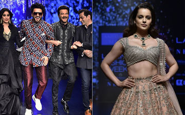 Lakme Fashion Week 2019: Ranveer Singh, Janhvi, Anil Kapoor Mark A TAKHT Reunion, While Kangana Ranaut Reminds Us Of FASHION Days