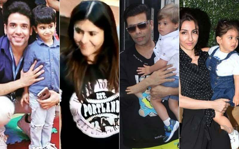 Tusshar Kapoor's Son Laksshya Turns 3: Ekta Kapoor, Karan Johar, Soha Ali Khan's Kids Have A Blast