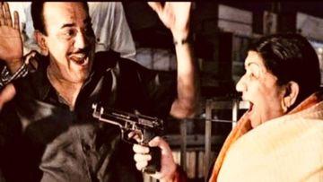 Lata Mangeshkar Points Gun At B'Day Boy Shivaji Satam AKA ACP Pradyuman; Says 'Phir Se CID Shuru Ho'
