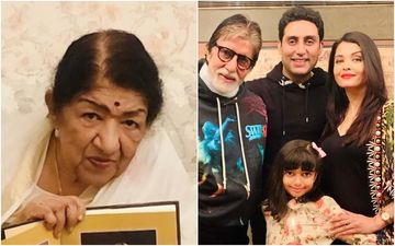 Amitabh, Abhishek, Aishwarya, Aaradhya Test Positive For COVID-19: Lata Mangeshkar Worries About Bachchans And Says, 'It's Like A Slap In The Face'