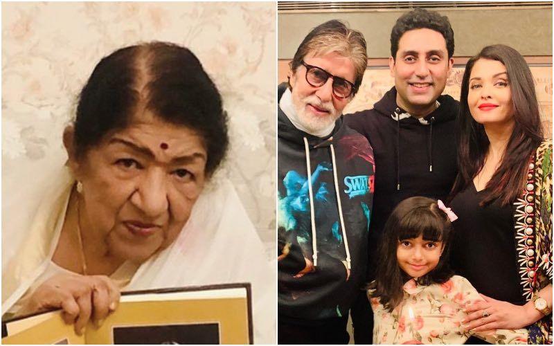 Amitabh, Abhishek, Aishwarya, Aaradhya Test Positive For COVID-19: Lata Mangeshkar Worries About Bachchans And Says, 'It's Like A Slap In The Face'