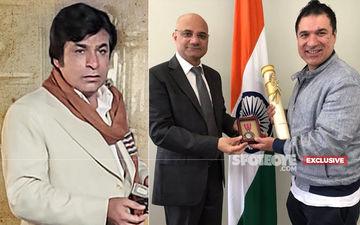 Kader Khan's Son Sarfraz Receives Father's Padma Shri In Toronto