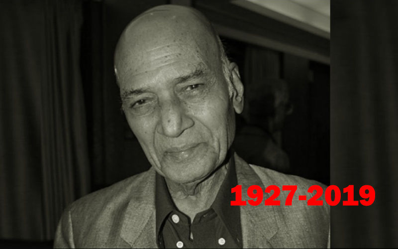 Legendary Music Director Khayyam Passes Away
