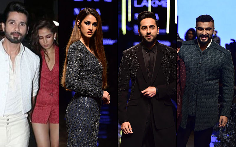 Lakme Fashion Week 2019: Shahid Kapoor, Mira Rajput, Disha Patani, Ayushmann Khurrana And Arjun Kapoor Up The Glamour Quotient On An Eventful Day 4!