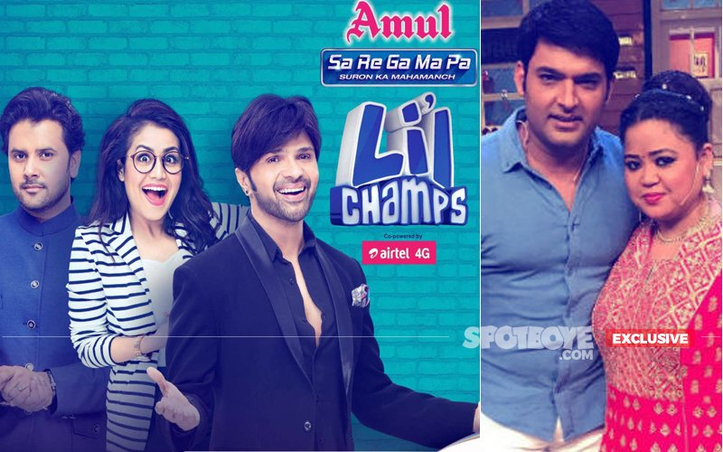 Zee TV's Sa Re Ga Ma Pa Lil Champs Shoots Finale With Kapil Sharma & Bharti Singh