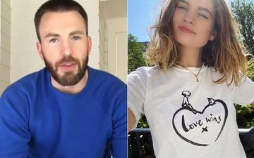 Has Captain America Aka Chris Evans Found Love In Lily James? Rumoured Couple Go On An Ice-Cream Date In London