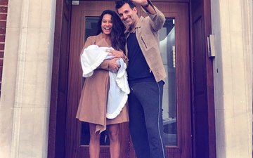 Lisa Haydon & Dino Lalvani Blessed With A Baby Boy, Couple Shares His First Picture