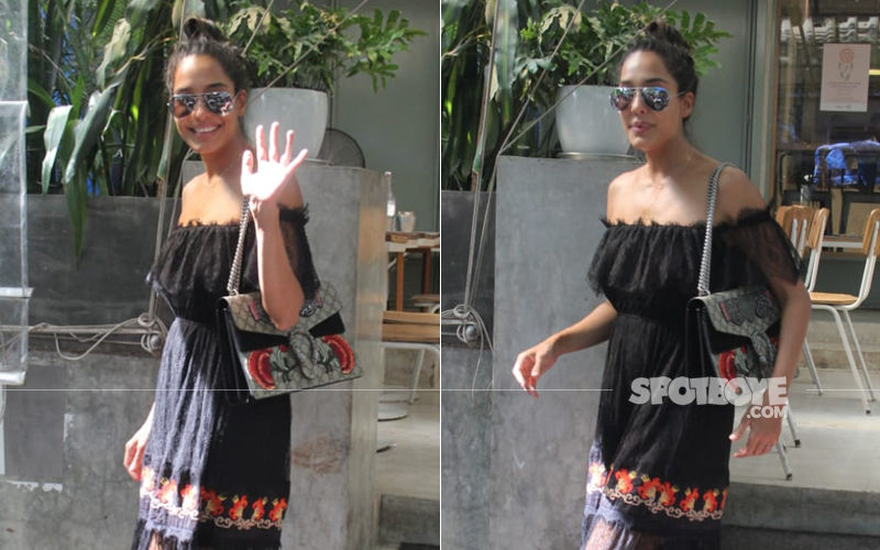 Lisa Haydon Snapped In Mumbai Post Making An Announcement Of Her Second Pregnancy
