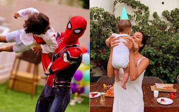 Lisa Haydon Organises Spider-Man Theme Party For Son Zack Lalvani's 3rd Birthday; Don't Miss The Special Cake Baked My Dear Mama