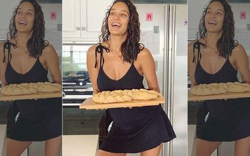 Lisa Haydon Is One Sexy Baker And Says 'The Recipe Is So Good Your Husband Won't Be Able To Keep His Hands Off It'