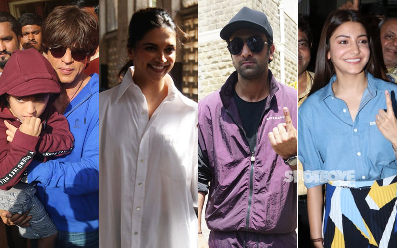 LIVE – Lok Sabha Elections 2019: Shah Rukh Khan, Deepika Padukone, Ranbir Kapoor, Anushka Sharma Turn Up To Vote In Mumbai