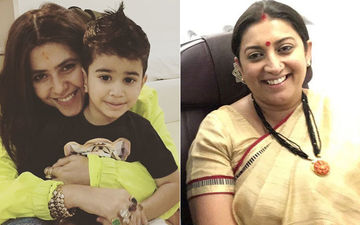Lok Sabha Elections 2019 Results: Ekta Kapoor Shares Picture Of Son Ravie Rooting For Aunt Smriti Irani