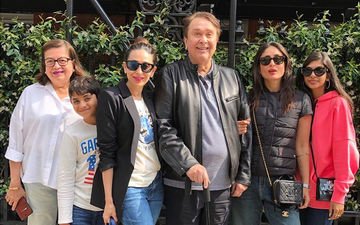 Kareena Kapoor Khan And Karisma Kapoor Soak In The London Sun With Their Parents And Kids