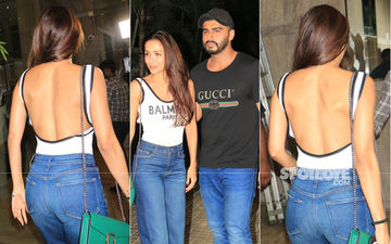 Love In Theatre: Malaika Arora Arrives To Cheer For Her One And Only Most Wanted Man, Arjun Kapoor
