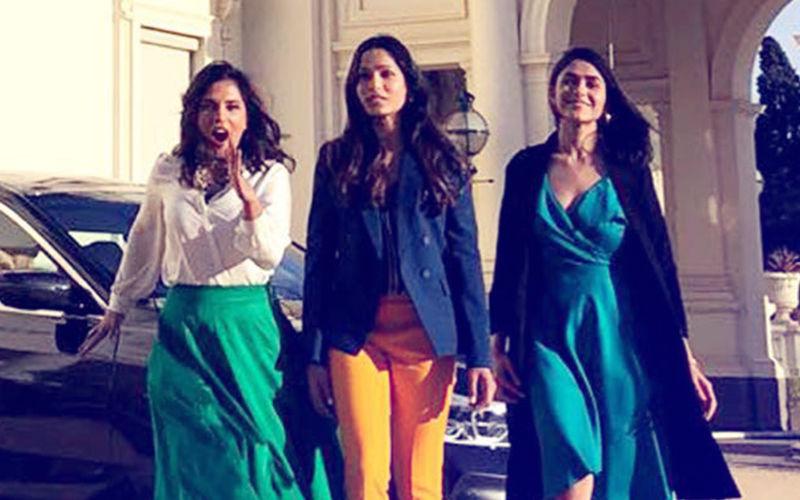 Love Sonia Actresses Freida Pinto, Richa Chadha & Mrunal Thakur Visit Governor Of Victoria