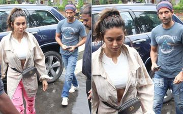 Lovebirds Farhan Akhtar And Shibani Dandekar Clicked Post Lunch Date- SEE PICS