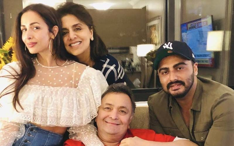 Lovebirds Malaika Arora-Arjun Kapoor Meet Rishi Kapoor In NYC; Actor Thanks Them, Not Without Revealing Their Movie Date Plans