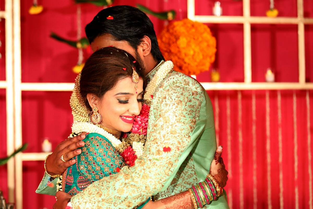 loveleen koushik at their engagement