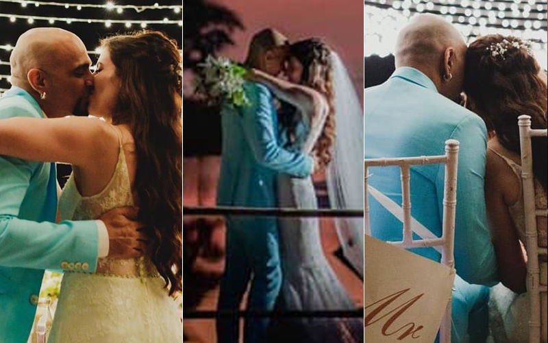 Lovely Unseen Pictures From Raghu Ram And Natalie Di Luccio's Christian Wedding