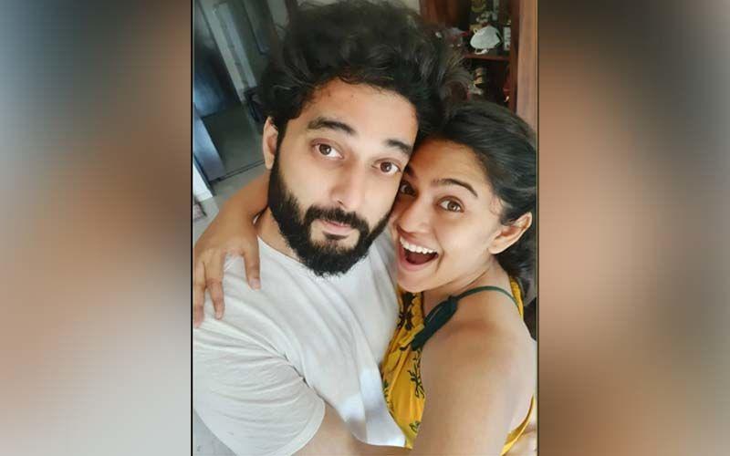 Mrunmayee Deshpande's Enjoys Giving Couple Goals On Social Media With Husband Swapnil Rao