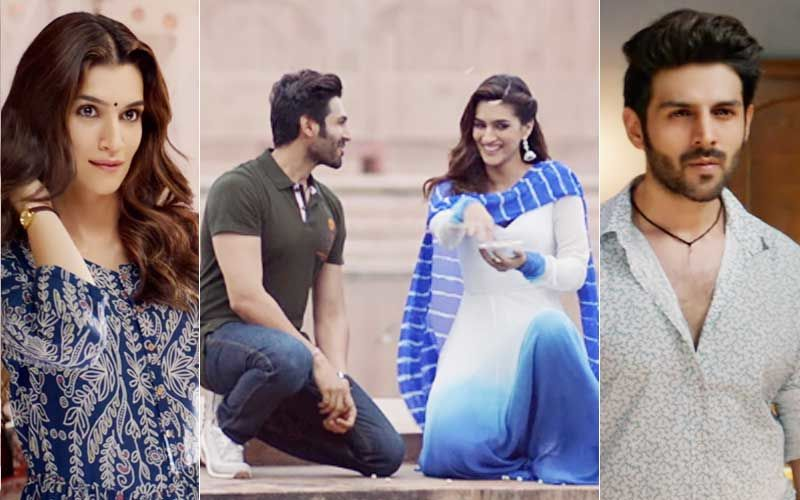 Kartik Aaryan-Kriti Sanon's Luka Chuppi Trailer: Will You Dare To Live-In With Family?