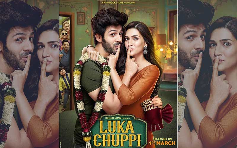 Luka Chuppi Poster: Kartik Aaryan & Kriti Sanon Are Ready To Escape
