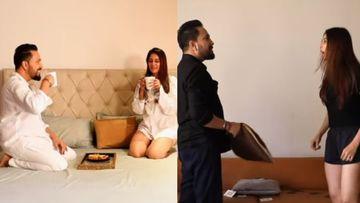 #QuarantineLove: Mika Singh -Chahat Khanna Ooze Love In Their First Music Video; Fans Go 'Bade Achhe Lagte Hai'