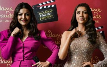 Kajal Aggarwal Unveils Her Wax Statue At Madame Tussauds Singapore; Her Excitement Sees No Bounds - PICS