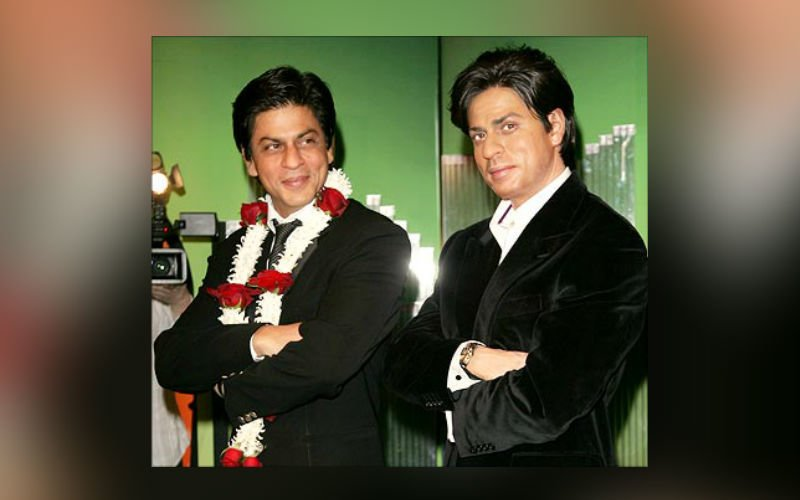 SRK Shoots At Madame Tussauds For Fan